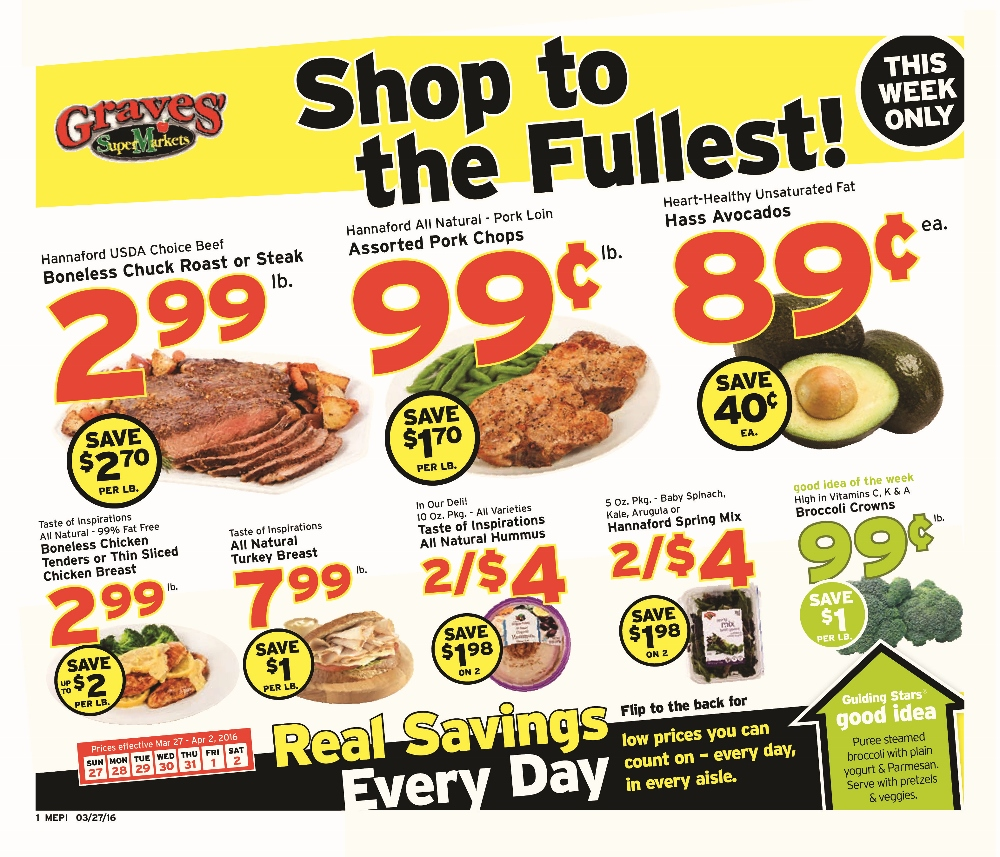 weekly sales flyer graves supermarkets